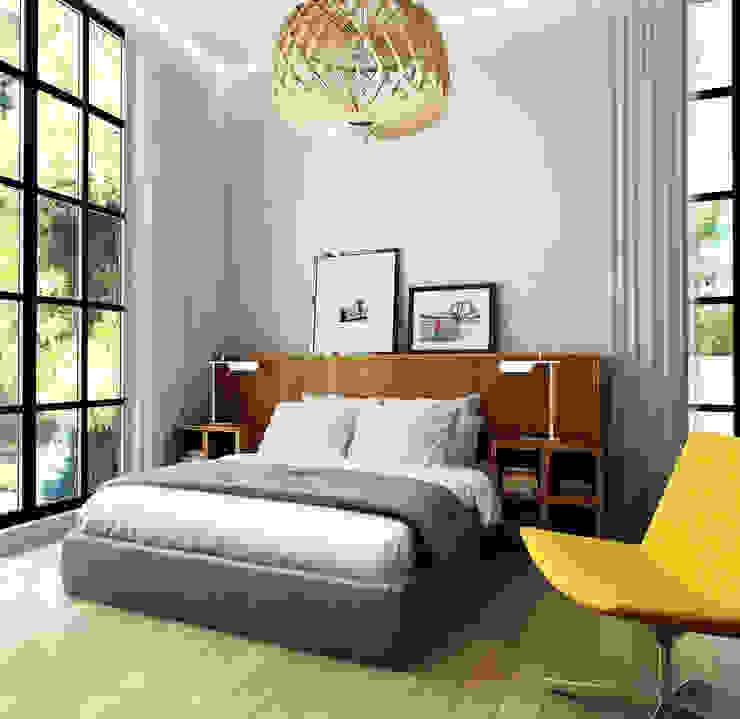 Porterouge Interiors \ Krasnye Vorota Eclectic style bedroom