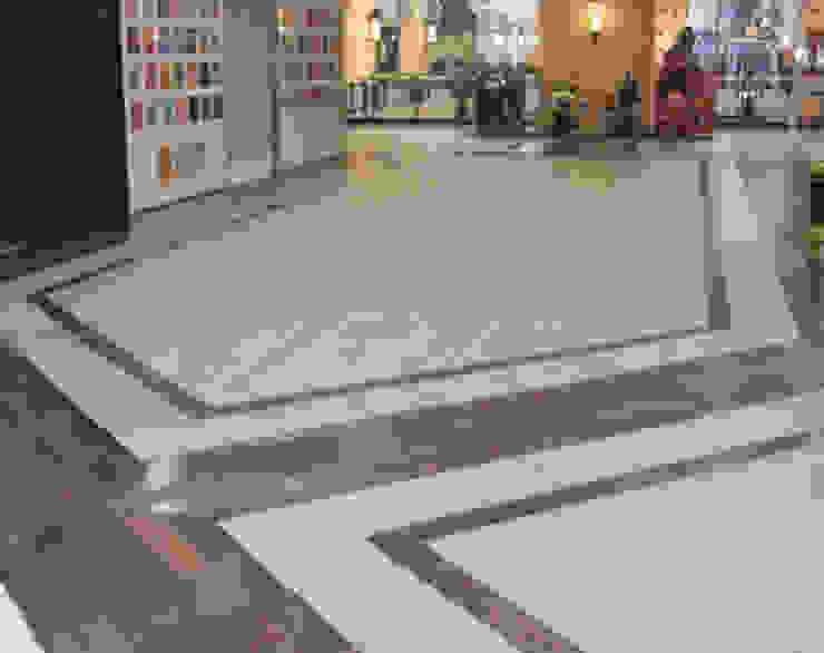 TTF Proyectos Moderne Einkaufscenter Keramik