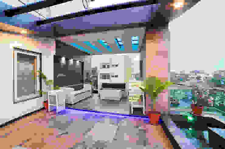 Taman Modern Oleh Square 9 Designs Modern