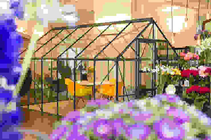 Blumen im Büro Bloomy Days GmbH Moderne Arbeitszimmer