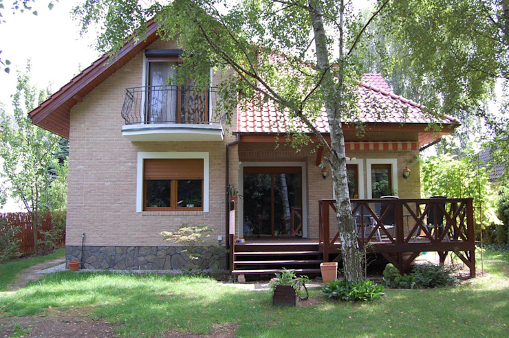 Rustic style houses by ITA Poland s.c. Rustic Bricks