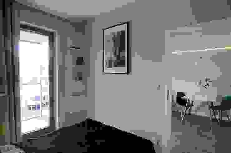 Habitaciones de estilo escandinavo de ARTEMA PRACOWANIA ARCHITEKTURY WNĘTRZ Escandinavo