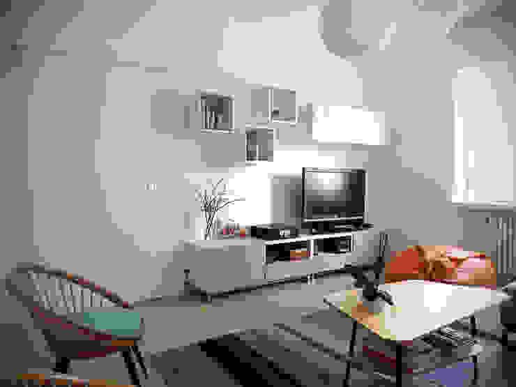 Moderne woonkamers van tiziano de cian Modern