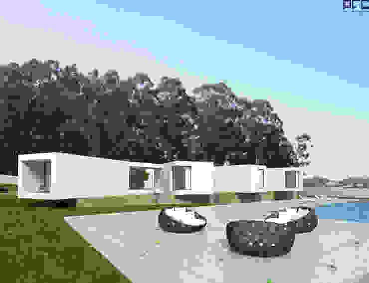 CASA RF_VILA DO CONDE_2011: Casas  por PFS-arquitectura,