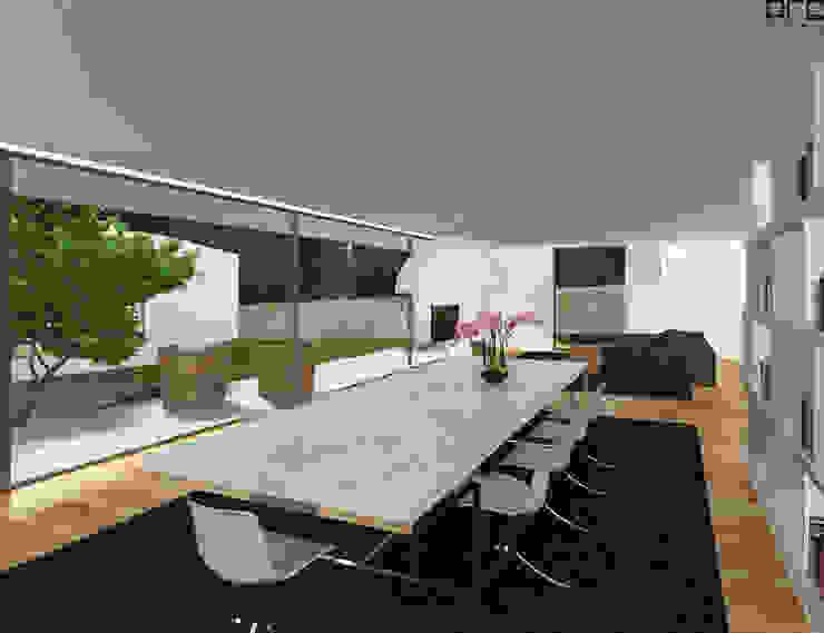 CASA RF_VILA DO CONDE_2011: Salas de jantar  por PFS-arquitectura,