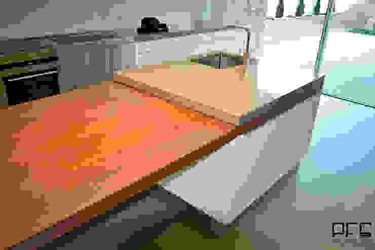 Cocinas de estilo minimalista de PFS-arquitectura Minimalista