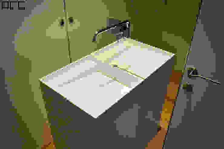 ミニマルスタイルの お風呂・バスルーム の PFS-arquitectura ミニマル
