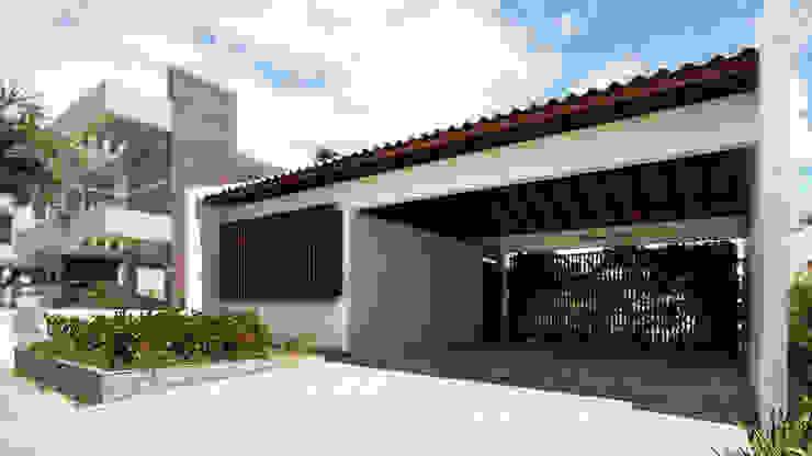 Minimalist houses by Coletivo de Arquitetos Minimalist