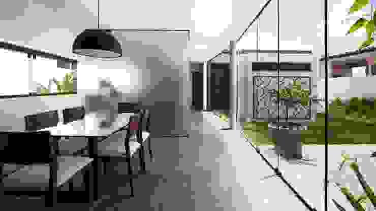 Minimalist house by Coletivo de Arquitetos Minimalist