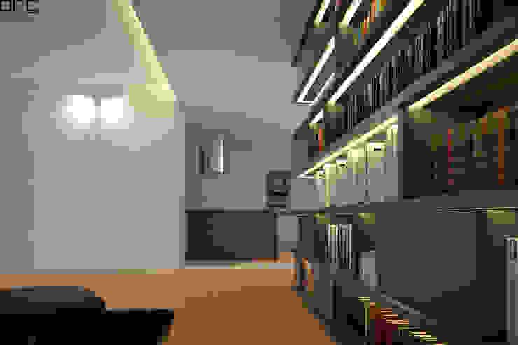 APARTAMENTO JC_PÓVOA DE VARZIM_2015 Cozinhas minimalistas por PFS-arquitectura Minimalista