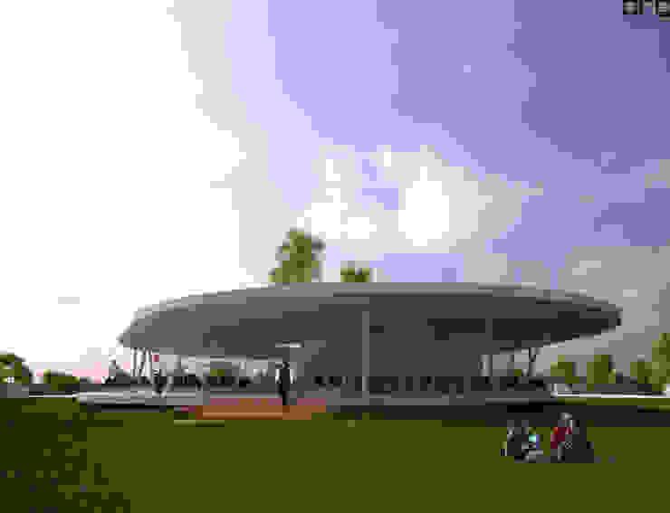 Estadios de estilo minimalista de PFS-arquitectura Minimalista
