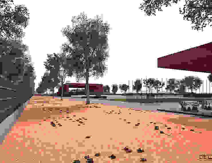 PARQUE DE JOGOS 02_ANGOLA_2012 Estádios minimalistas por PFS-arquitectura Minimalista