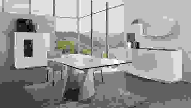 Salas de jantar Dining rooms www.intense-mobiliario.com AAWS http://intense-mobiliario.com/pt/salas-de-jantar/6821-sala-de-jantar-aaws.html por Intense mobiliário e interiores; Moderno