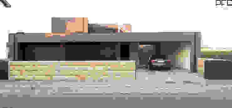 Casas minimalistas de PFS-arquitectura Minimalista
