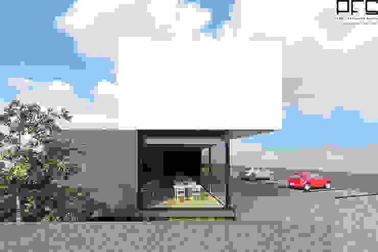 RESTAURANTE RM_PÓVOA DE VARZIM_2016 Espaços de restauração minimalistas por PFS-arquitectura Minimalista