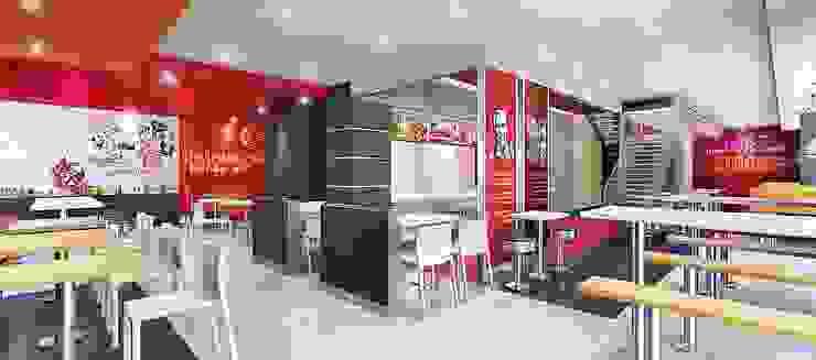 KFC LA RAMBLA SAN BORJA de ARKILINEA Moderno