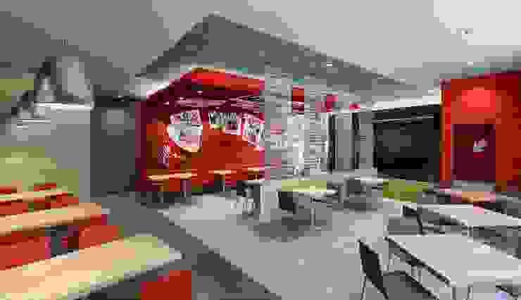 KFC NARANJAL de ARKILINEA Moderno