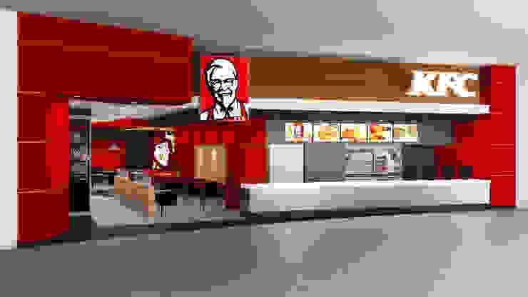 KFC FOOD COURT TRUJILLO de ARKILINEA Moderno