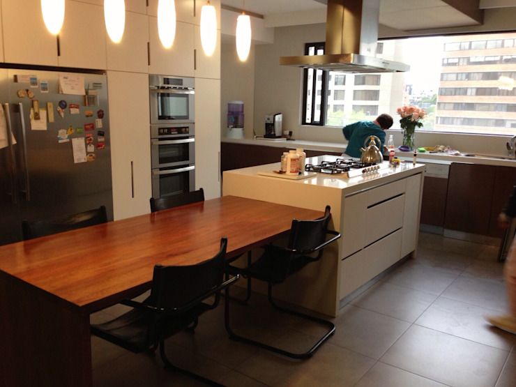Dapur Modern Oleh La Carpinteria - Mobiliario Comercial Modern