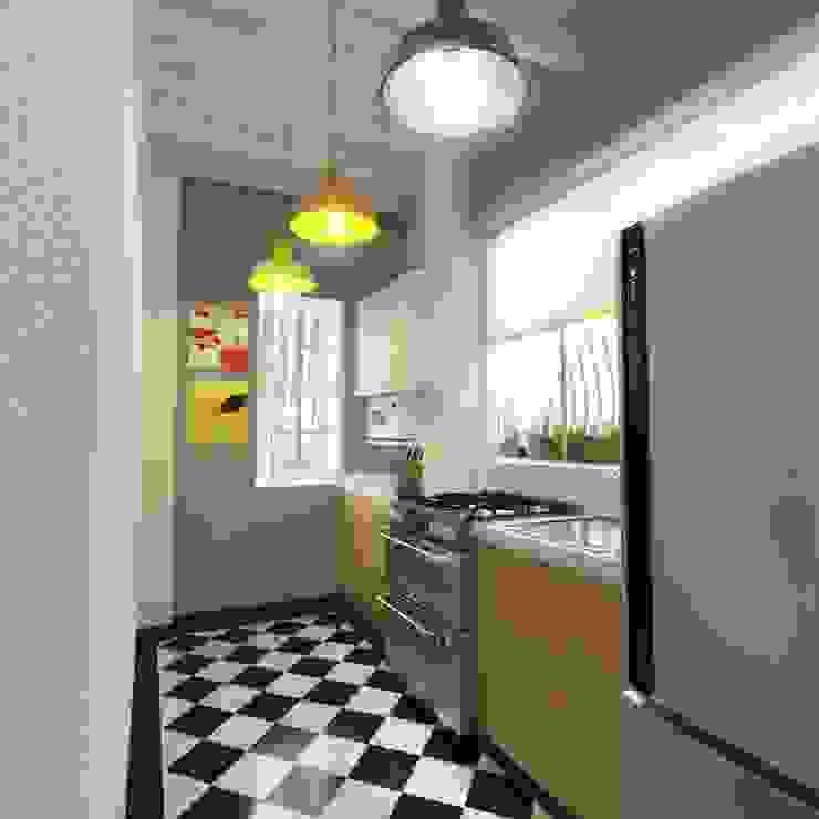 Cocina Cocinas de estilo escandinavo de Kuro Design Studio Escandinavo