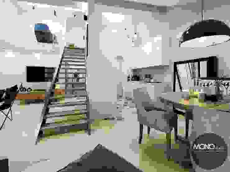 MONOstudio Minimalist dining room