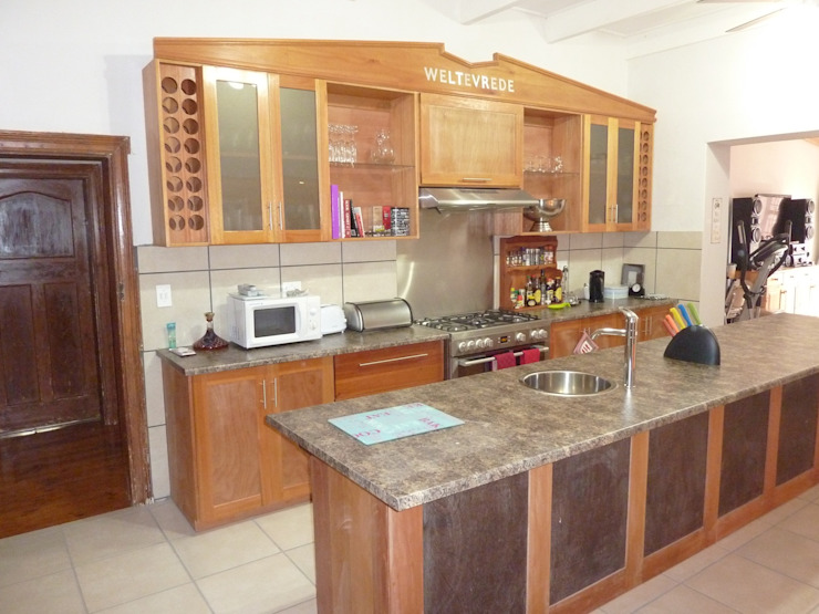 GreenCube Design Pty Ltd Kitchen Wood