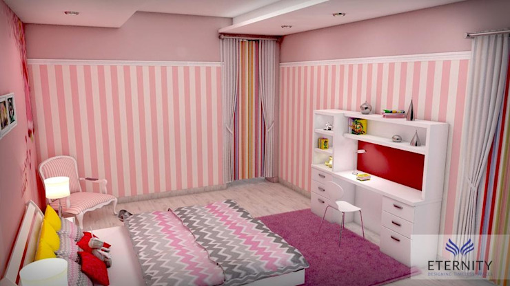 Kids Room for Girl Classic style nursery/kids room by homify Classic