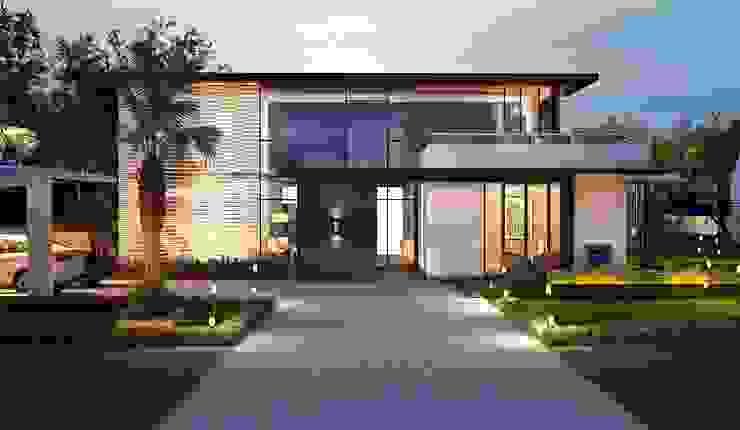 big bunglows by Vinyaasa Architecture & Design Modern
