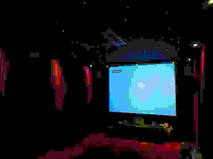 high end house interior Modern media room by Vinyaasa Architecture & Design Modern
