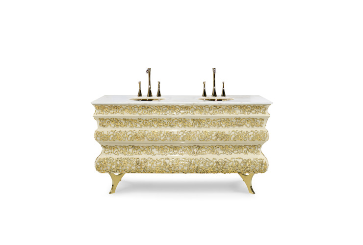 Art for the Bath: Crochet Washbasin Oleh Maison Valentina Klasik
