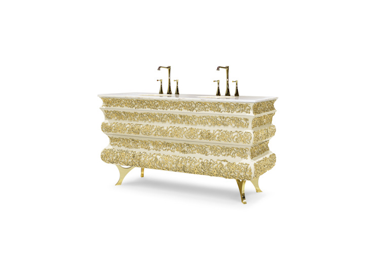 Art for the Bath: Crochet Washbasin von Maison Valentina Klassisch