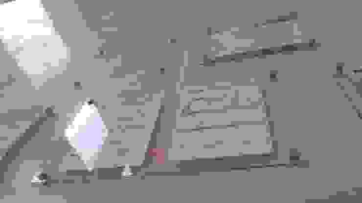 Centrando los ejes de RecreARQ Construcciones Minimalista Vidrio