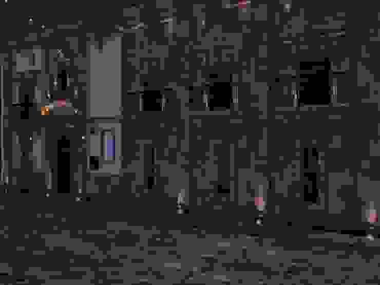 Vista nocturna perspectiva de MRamos