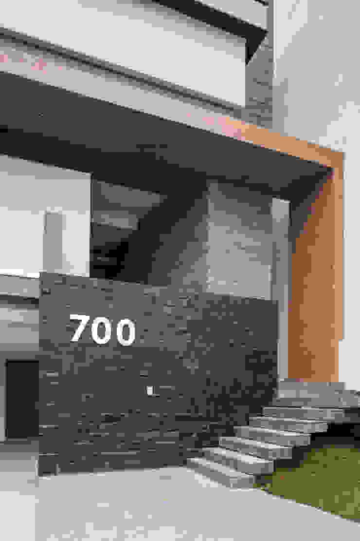 fachada URBN Casas modernas