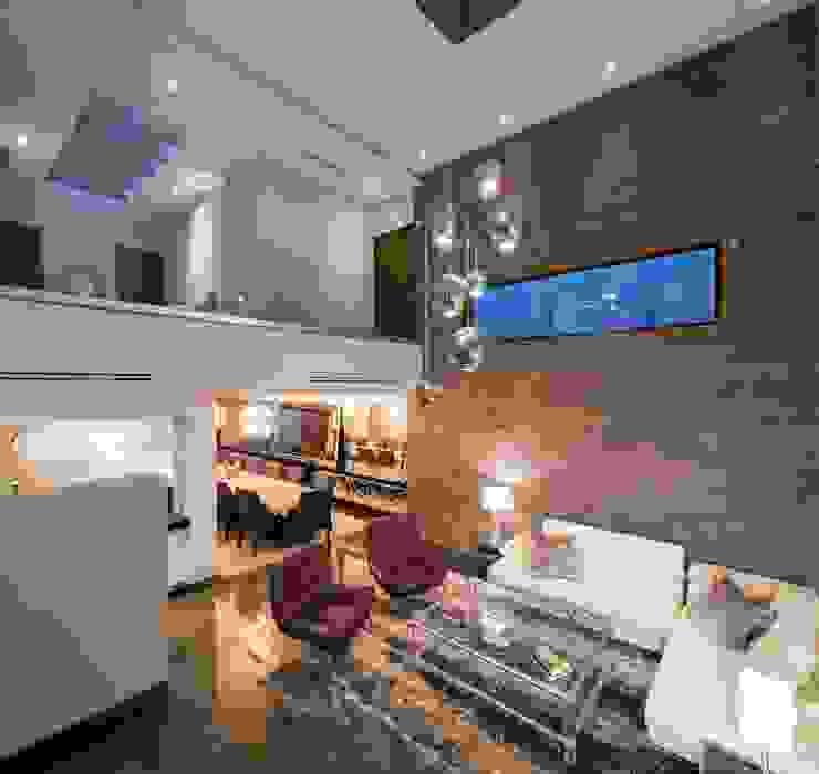 Sala URBN Salas de estilo rústico