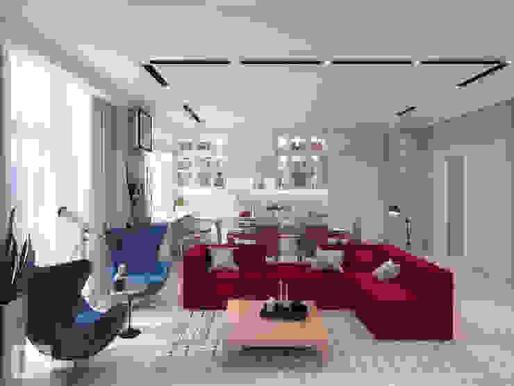 Giovani Design Studio Classic style living room