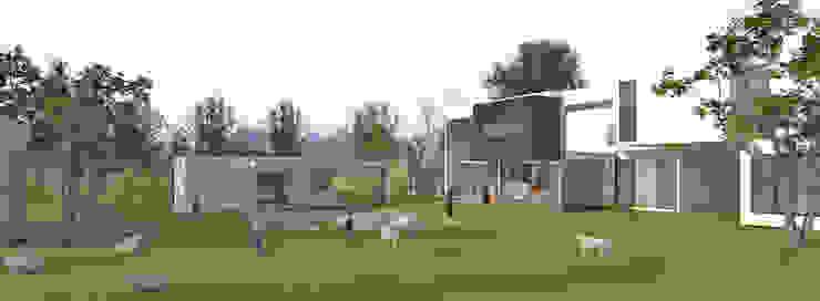 Area ludica-recreativa Albercas minimalistas de RecreARQ Construcciones Minimalista