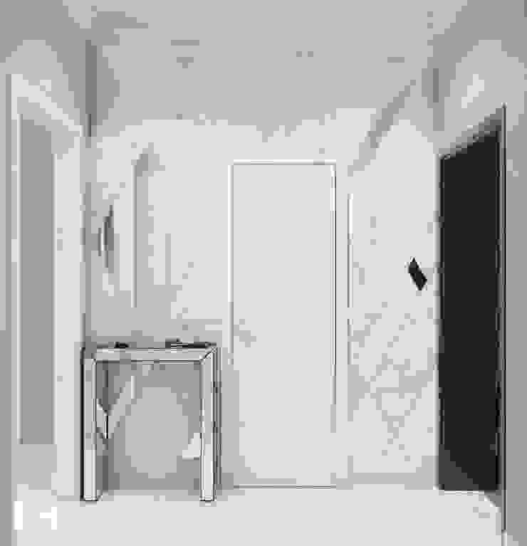 Giovani Design Studio Classic style corridor, hallway and stairs
