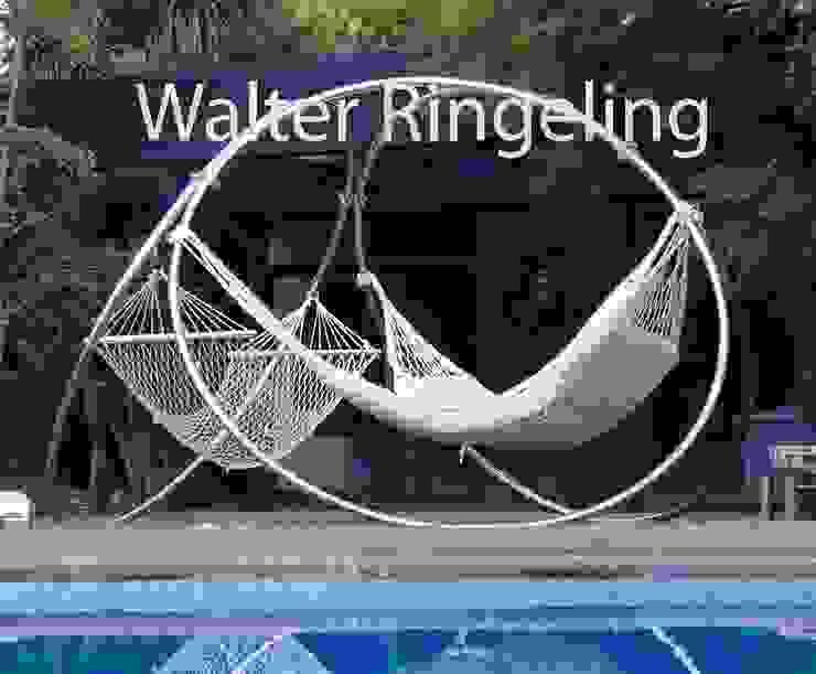 Porta Hamacas de Walter Ringeling Diseño & Mobiliario Moderno Hierro/Acero