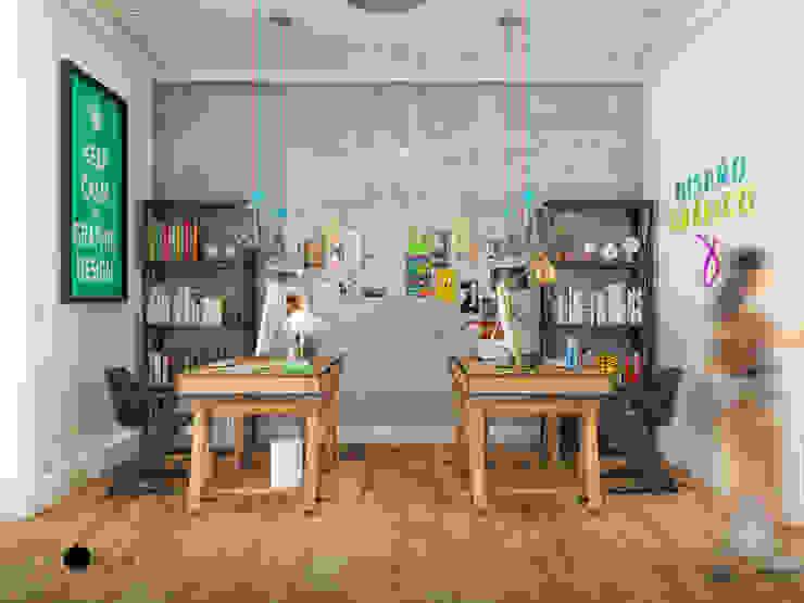 Vista oficina diseño grafico de MRamos