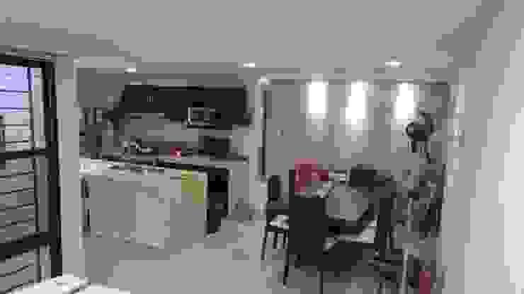 Cocina-Comedor de RecreARQ Construcciones