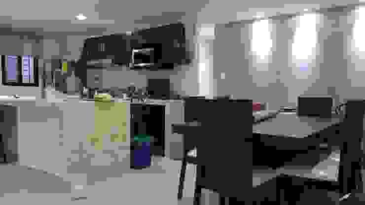 Comedor - Cocina de RecreARQ Construcciones