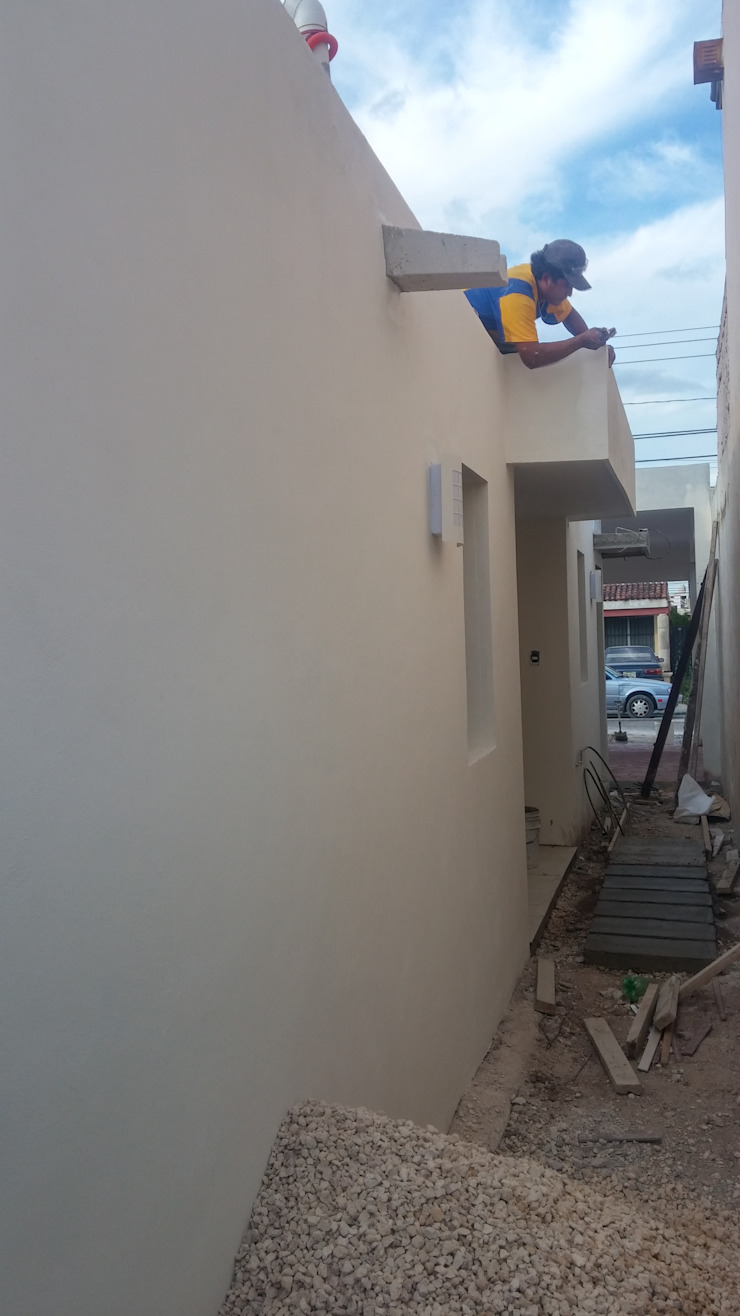 Pasillo de servicio de RecreARQ Construcciones