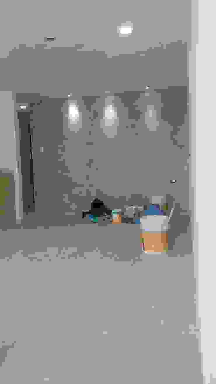 Trabajos de pintura de RecreARQ Construcciones