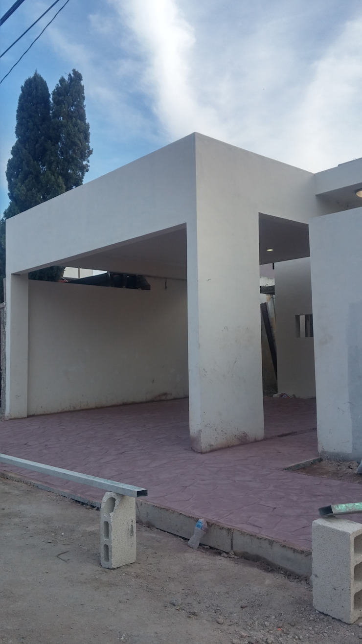 Trabajos concreto estampado de RecreARQ Construcciones