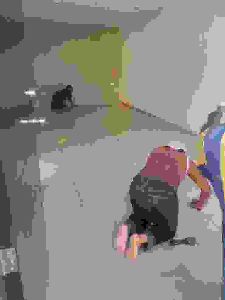 Detalles limpieza final antes de entrega de RecreARQ Construcciones