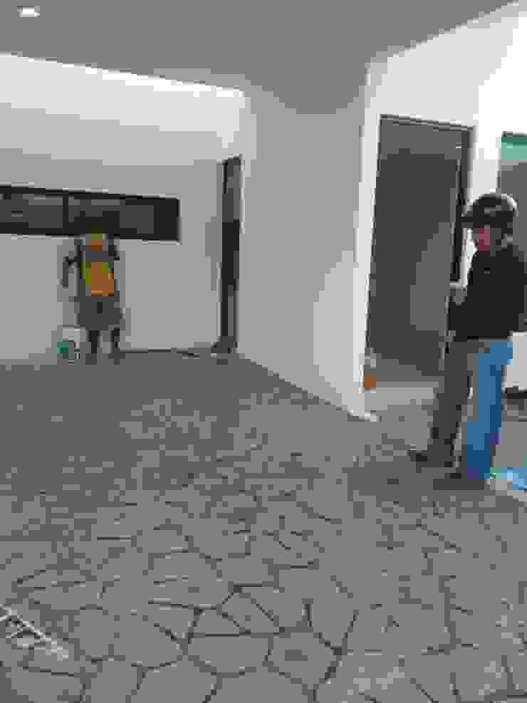 Detalles concreto estampado de RecreARQ Construcciones