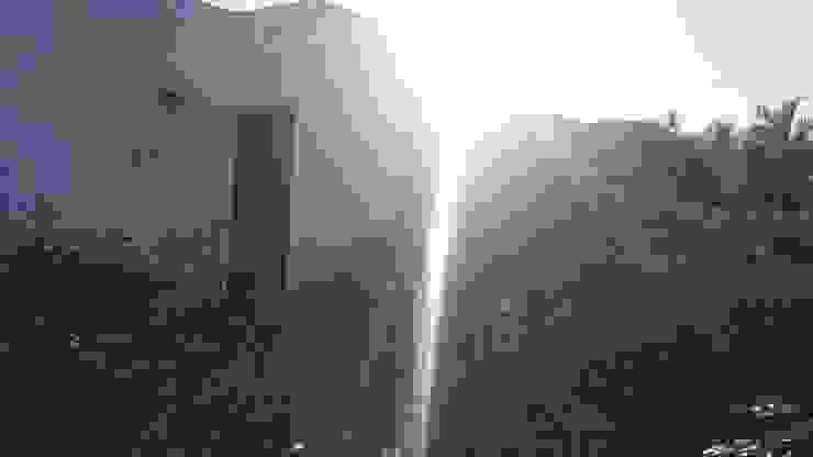 Jardín antes de la intervención de RecreARQ Construcciones