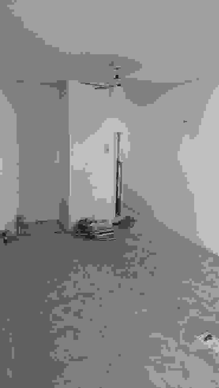 Sala comedor antes de la intervención de RecreARQ Construcciones