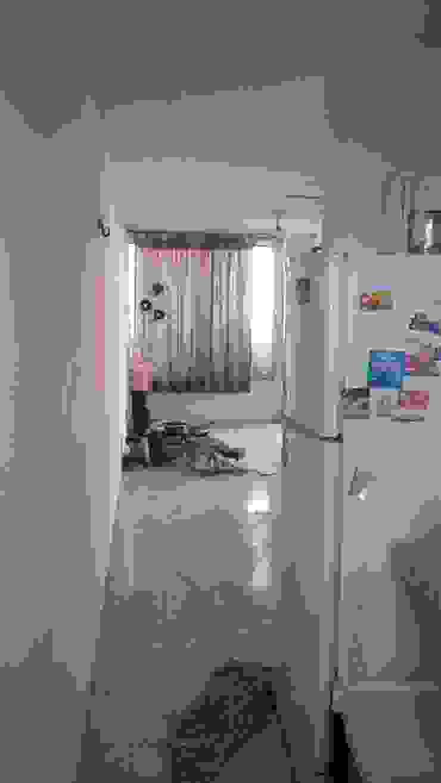 Vista desde la cocina antes de la intervención de RecreARQ Construcciones